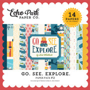 Go See Explore Paper Pack #2