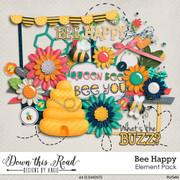 Bee Happy Element Pack