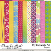 My Sidewalk Art Paper Pack
