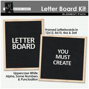 Letter Board Kit