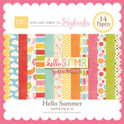 Hello Summer Paper Pack #2