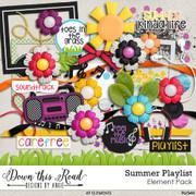 Summer Playlist Element Pack