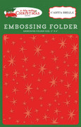 A Very Merry Christmas Embossing Folder - Christmas Magic