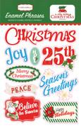 A Very Merry Christmas Enamel Words & Phrases