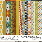 The Tiki Tiki Tiki Room Paper Pack