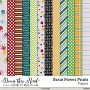 Brain Power Prints Paper Pack