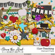 I LUV Teaching Element Pack