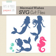 Mermaid Dreams Cut Files