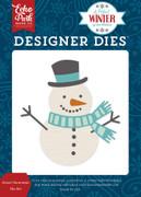 Sweet Snowman Die Set