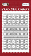 Arctic Sweater A2 Background Stamp