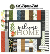 Welcome Home 6x6 Paper Pad