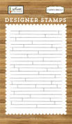 Shiplap A2 Background Stamp