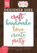 Create Handmade Word Die Set