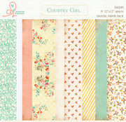 Paper Pack Country Girl