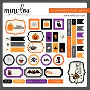 ML Halloween Sticker