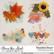 Thankful Heart Finishing Touches