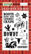 Howdy Cowboy Stamp