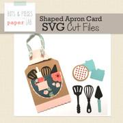Apron Shaped Card Cut Files