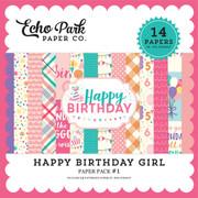 Happy Birthday Girl Paper Pack #1