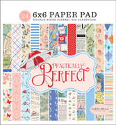Practically Perfect 6x6 Paper Pad