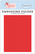 Practically Perfect Embossing Folder - Perfect Stripe