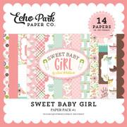Sweet Baby Girl Paper Pack #1