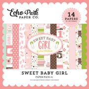 Sweet Baby Girl Paper Pack #2