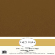 Chocolate Shimmer Cardstock