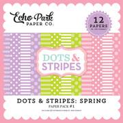Dots & Stripes: Spring Paper Pack #1