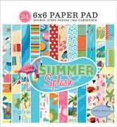 Summer Splash 6x6 Paper Pad