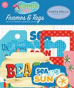 Summer Splash Frames & Tags Ephemera