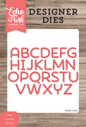 Oliver Uppercase Die Set