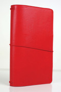 Red Travelers Notebook