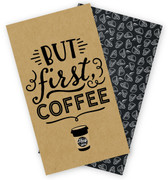 Coffee & Friends Travelers Notebook Insert - Daily Calendar