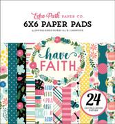 Have Faith 6x6 Paper Pad