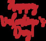 Happy Valentine's Day #2 SVG Cut File