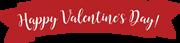 Valentine Banner SVG Cut File