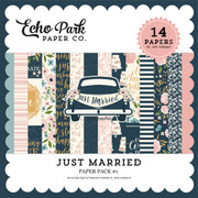 Just Married Paper Pack #1