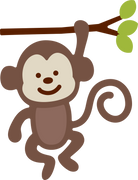 Monkey SVG Cut File