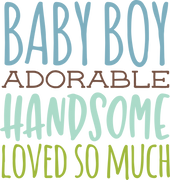 Baby Boy #2 SVG Cut File