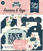 Just Married Frames & Tags Ephemera