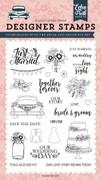 Bride & Groom Stamp