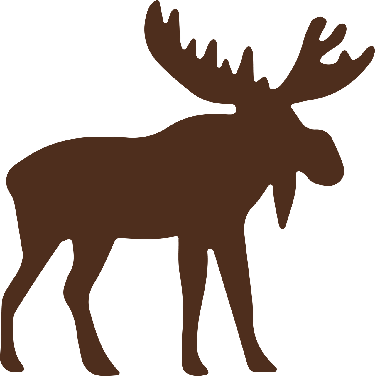 Moose Svg Cut File