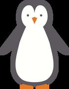 Penguin #2 SVG Cut File