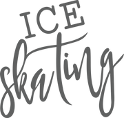 Ice Skating SVG Cut File