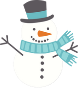Snowman #4 SVG Cut File