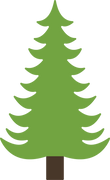 Pine Tree #3 SVG Cut File