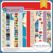 Passport Paper Pack #1