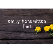 Emily Handwritten Font