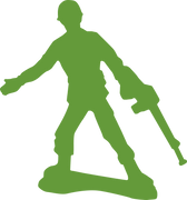 Army Man SVG Cut File